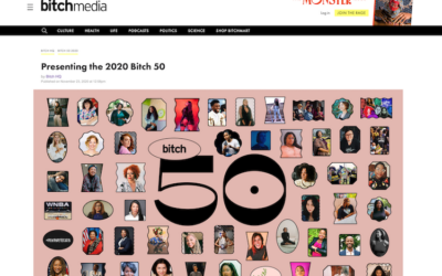 Presenting the 2020 Bitch 50