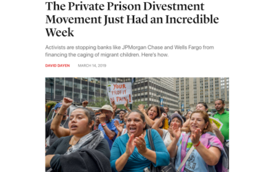 The Private Prison Divestment Movement Just Had an Incredible Week